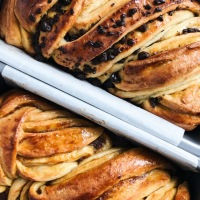 Chocolate Pumpkin Spiced Babka